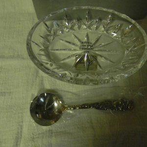 Gorham Lady Anne Cranberry Dish w/Spoon